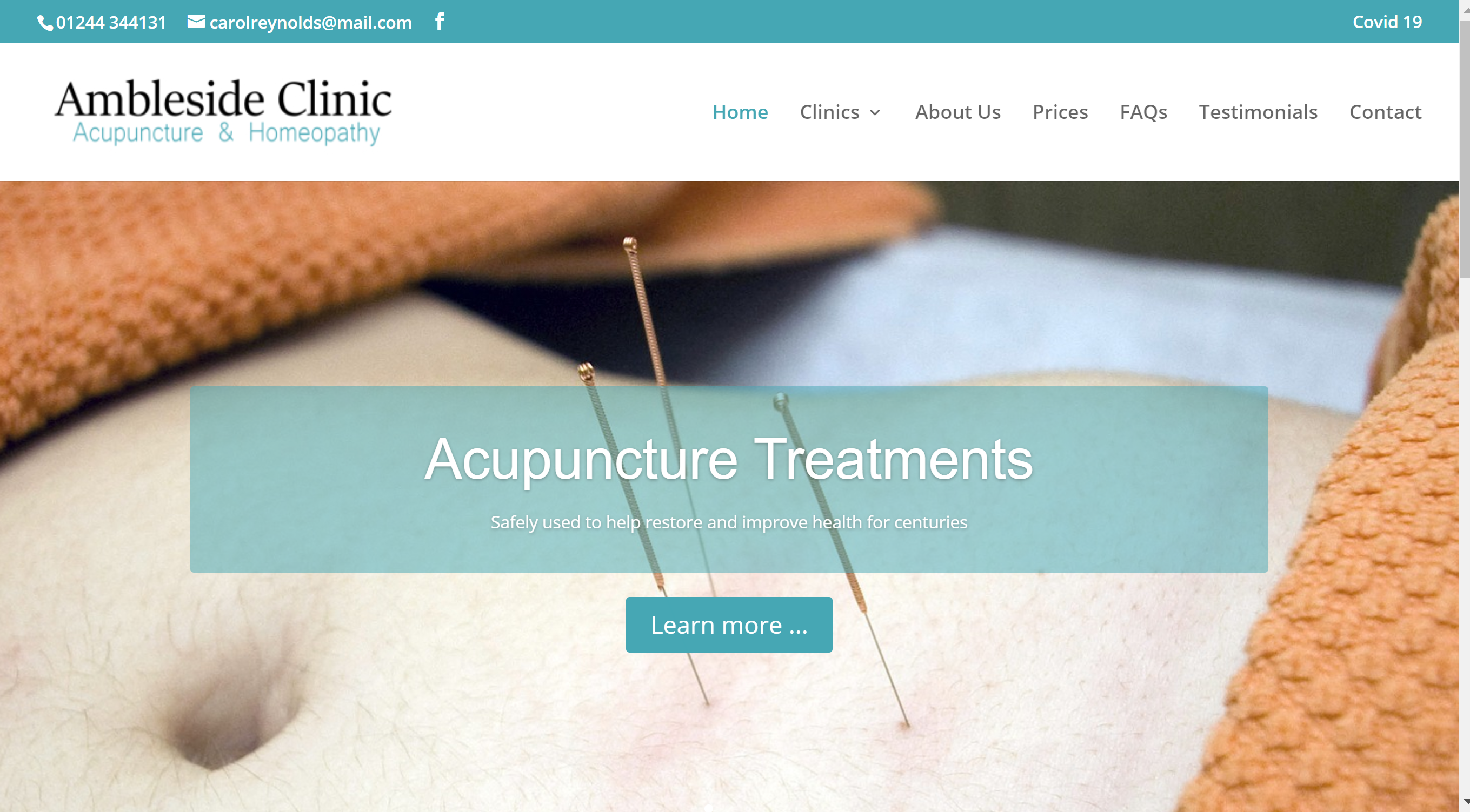 Acupuncture and Homeopathy in Chester with Ambleside Clinic